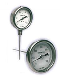 Termômetro bimetalico